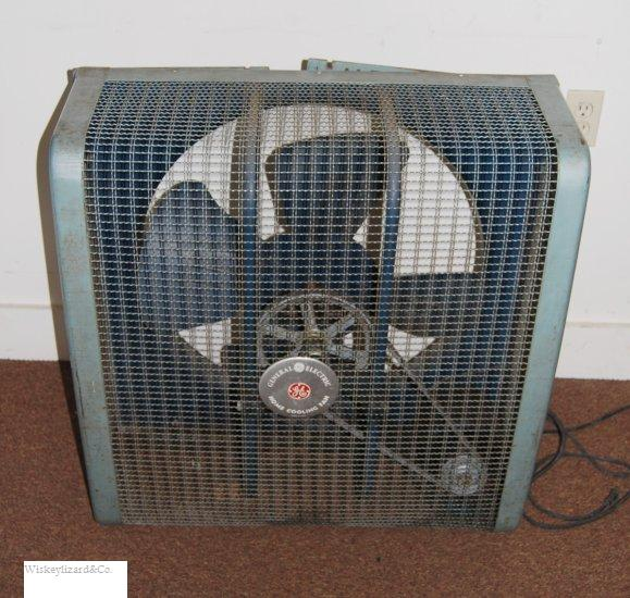 Vintage General Electric Window Fan from the late 1940s